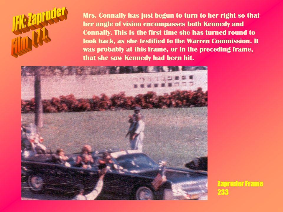 JFK: Zapruder Film [ 7 ].